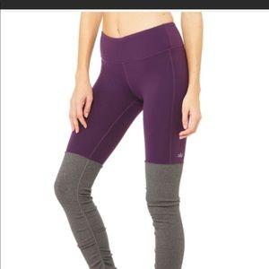 Alo purple goddess leggings